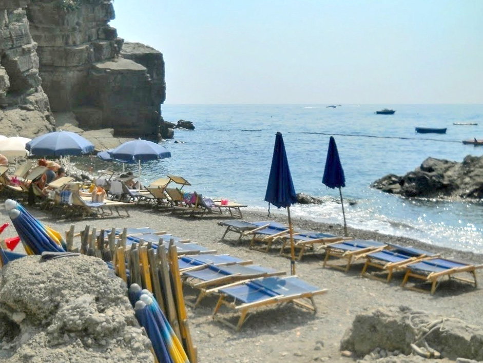 Laurito's Beach in Positano