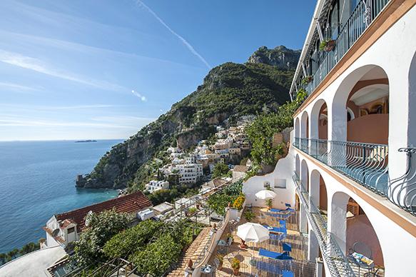 Il Gabbiano Hotel Positano - Our Terrace