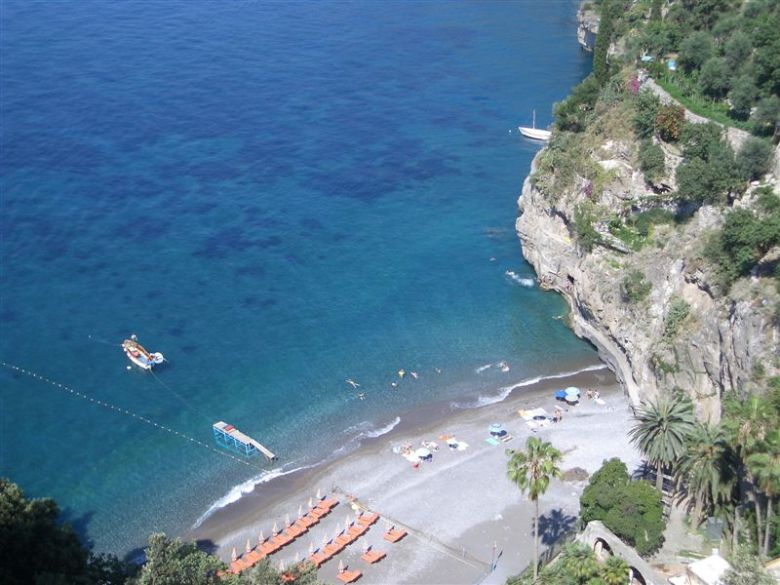 Arienzo's Beach in Positano