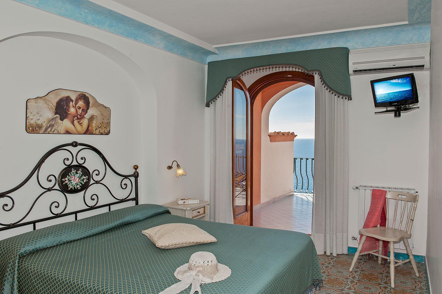 Camera tripla a Positano - Gabbiano Hotel Positano
