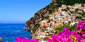 Positano Month of Roses special offer